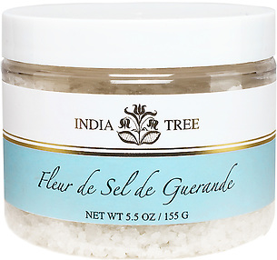 10130 Fleur de Sel de Guerande, Specialty Salt 5.5 oz, India Tree Storefront