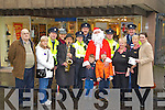 Local Gardaí will take time out next week to do their bit for charity this Christmas in aid of the Kerry branch of the Irish Kidney Association. Local Gardaí will perform along with a host of local characters including Christy 'hucklebuck' McCarthy from 12.30am -5pm next Tuesday December 20th and Santa Claus aka Jerry Quinlan.