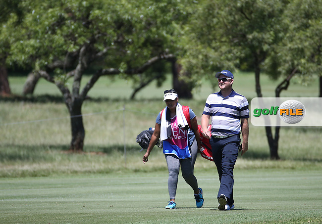 Marital bliss having &quot;Pooh&quot; on the bag this week for Merrick Bremner (RSA) during Round One of the 2016 Tshwane Open, played at the Pretoria Country Club, Waterkloof, Pretoria, South Africa.  11/02/2016. Picture: Golffile | David Lloyd<br /> <br /> All photos usage must carry mandatory copyright credit (&copy; Golffile | David Lloyd)