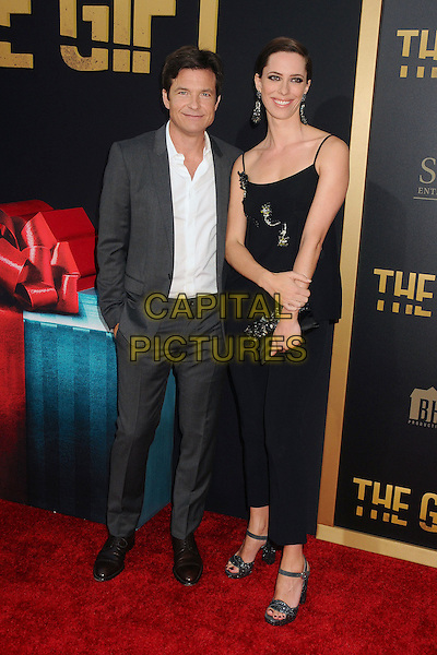 30 July 2015 - Los Angeles, California - Jason Bateman, Rebecca Hall. &quot;The Gift&quot; Los Angeles Premiere held at Regal Cinemas LA Live.  <br /> CAP/ADM/BP<br /> &copy;Byron Purvis/AdMedia/Capital Pictures