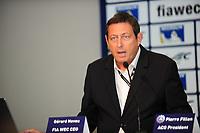 GERARD NEVEU (FRA) CEO FIA WEC PRESS CONFERENCE FIA WEC CALENDAR 2015