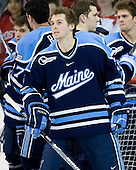 Josh Van Dyk (Maine - 5) - The Boston University Terriers defeated the University of Maine Black Bears 1-0 (OT) on Saturday, February 16, 2008 at Agganis Arena in Boston, Massachusetts.