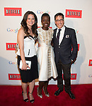WASHINGTON, DC - MAY 2: Katie Lowes, Lupita Nyong'o and Dan Bucatinsky attending the Google and Netflix party to celebrate White House Correspondents' Dinner on May 2, 2014 in Washington, DC. Photo Credit: Morris Melvin / Retna Ltd.