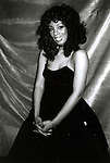 Donna Summer at the Savoy Theater in New York City. January 1983