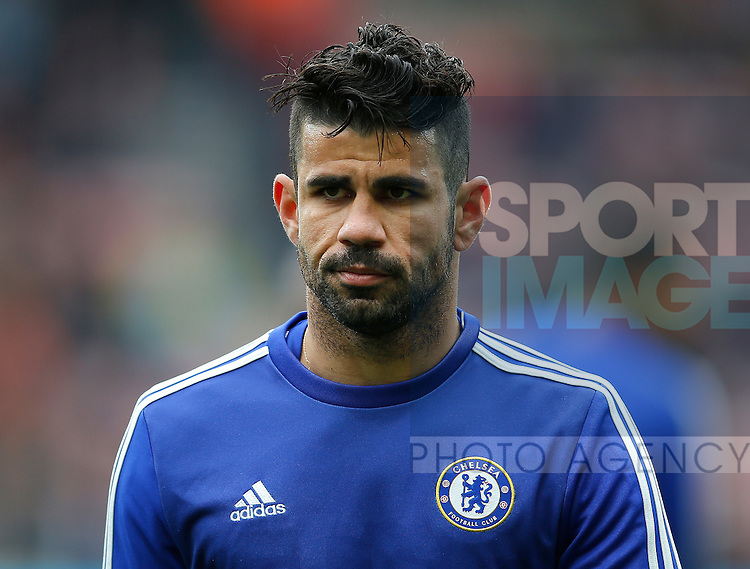 Diego Costa of Chelsea during the Barclays Premier League match at the Stadium of Light, Sunderland. Photo credit should read: Simon Bellis/Sportimage
