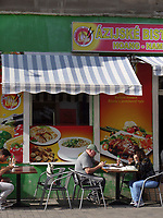 Restaurant auf Obchodna, Bratislava, Bratislavsky kraj, Slowakei, Europa<br /> Restaurant at Obchodna, Bratislava, Bratislavsky kraj, Slovakia, Europe