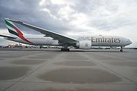 A350 von Emirates - Frankfurt 16.10.2019: Eichwaldschuele Schaafheim am Frankfurter Flughafen