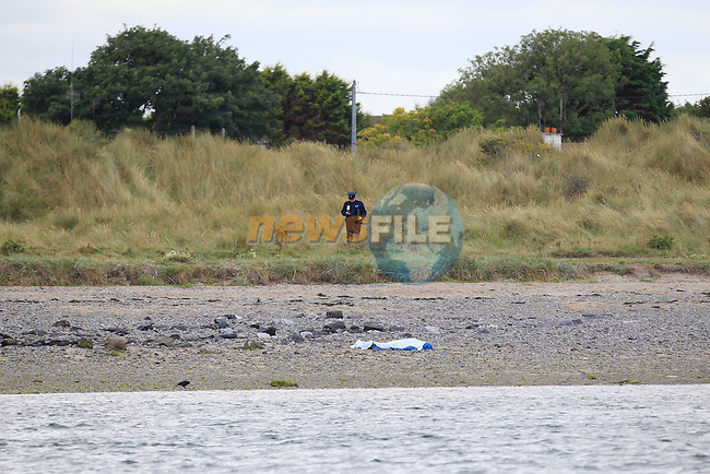 Garadi in Meath seal of an area at the tower in Mornington, where a body was found at approx 9.30 this morning. the body was found on the banks of the river boyne.<br /> Picture Thos Caffrey www.newsfile.ie