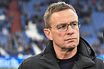 16.03.2019, VELTINS-Arena, Gelsenkirchen, GER, DFL, 1. BL, FC Schalke 04 vs RB Leipzig, DFL regulations prohibit any use of photographs as image sequences and/or quasi-video<br /> <br /> im Bild Ralf Rangnick (RB Leipzig)  Portrait, halbportrait, Bild, einzel, Einzelaufnahme, picture, single, solo, alleine <br /> <br /> Foto © nph/Mauelshagen