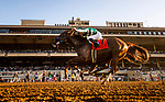 DEL MAR, CA: August 24: #7 Catalina Cruiser and Flavien Prat win the Grade II Pat O'Brien Stakes at Del Mar Thoroughbred Club on August 24, 2019 in Del Mar, California (Photo by Chris Crestik/Eclipse Sportswire)