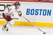 Lexi Bender (BC - 21) - The Boston College Eagles defeated the Northeastern University Huskies 5-1 (EN) in their NCAA Quarterfinal on Saturday, March 12, 2016, at Kelley Rink in Conte Forum in Boston, Massachusetts.