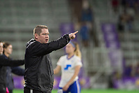 Orlando, FL - Saturday June 03, 2017: Matt Beard during a regular season National Women's Soccer League (NWSL) match between the Orlando Pride and the Boston Breakers at Orlando City Stadium.