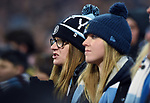 Manchester City fans during the premier league match at the Etihad Stadium, Manchester. Picture date 16th December 2017. Picture credit should read: Robin ParkerSportimage