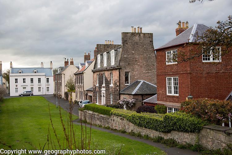 Historic buildings, Berwick-upon-Tweed, Northumberland, England, UK
