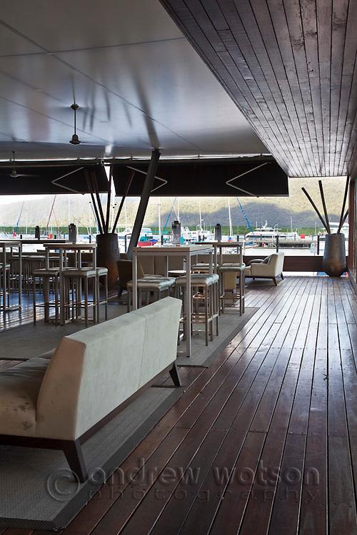 Ba8 Lounge Bar at Shangri-La Hotel.  The Pier, Cairns, Queensland, Australia