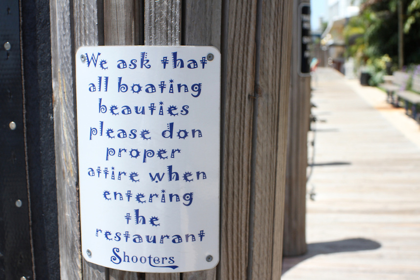 Boating beauties sign in FL lauderdale