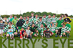 CUP WINNERS: The Killarney Celtic B team winners of the Dominos Pizza Cup Final at Mounthawk Park on Sunday.
