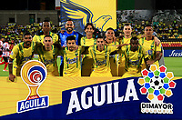 BUCARAMANGA - COLOMBIA, 01-09-2019: Jugadores de Atlético Bucaramanga posan para una foto antes de partido entre Atlético Bucaramanga y Atlético Junior, de la fecha 9 por la Liga Águila II 2019, jugado en el estadio Alfonso López de la ciudad de Bucaramanga. / Players of Atletico Bucaramanga pose for a photo prior a match between Atletico Bucaramanga and Atletico Junior, of the 9th date for the Aguila Leguaje II 2019 at the Alfonso Lopez Stadium in Bucaramanga city Photo: VizzorImage / Oscar Martínez / Cont.