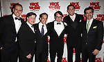 Matthew Broderick & Ensemble.attending the Broadway Opening Night After Party for  'Nice Work If You Can Get It' at the Mariott Marquis  on 4/24/2012 in New York City.