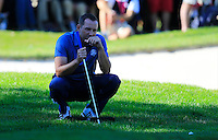 Sergio Garcia (Team Europe) on the 8th during the Friday afternoon Fourball at the Ryder Cup, Hazeltine national Golf Club, Chaska, Minnesota, USA.  30/09/2016<br /> Picture: Golffile | Fran Caffrey<br /> <br /> <br /> All photo usage must carry mandatory copyright credit (&copy; Golffile | Fran Caffrey)