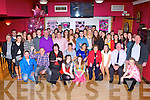 Miriam Healy, Kilcummin seated centre who celebrated her 21st birthday with her family and friends in the Village Inn on Friday night
