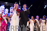 The Meath Rose, Elysha Brennan, the 2015 Rose of Tralee at the Denny Street stage on Tuesday.