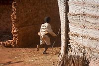 Afrique/Afrique de l'Est/Tanzanie/Zanzibar/Ile Unguja/Makunduchi: scenes de vie au village