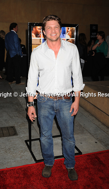 """HOLLYWOOD, CA. - April 19: Mark Blucas arrives at the Los Angeles Premiere of """"Mother And Child"""" at the Egyptian Theatre on April 19, 2010 in Hollywood, California."""