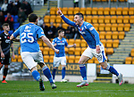 St Johnstone v Kilmarnock...07.11.15  SPFL  McDiarmid Park, Perth<br /> Michael O'Halloran celebrates his goal<br /> Picture by Graeme Hart.<br /> Copyright Perthshire Picture Agency<br /> Tel: 01738 623350  Mobile: 07990 594431