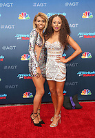 PASADENA, CA - MARCH 12: Phoenix Chi Gulzar, Mel B, at America&rsquo;s Got Talent  Kickoff at The Pasadena Civic Auditorium in Pasadena, California on March 12, 2018. <br /> CAP/MPI10<br /> &copy;MPI10/Capital Pictures
