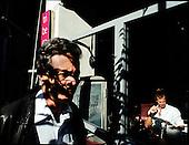 Athens 31.10.2011 Greece<br /> Financial District in Athens.<br /> For many years Greek governments increased spending despite unability to settle the public debt reaching now the amount of 300 billion euros. But that is not the sole problem. The Greek economy crises is also due to the corruption that pervades every corner of day to day life in the country. Transparency International proves that bribery, patronage and other public corruption costs .Greece 8% of its GDP annually, placing the counrty among top of the list of countries drowning in systemic corruption.<br /> Photo: Adam Lach / Napo Images<br /> <br /> Dzielnica Finansowa w Atenach.<br /> Przez wiele lat greckie rzady zwiekszaly wydatki bez pokrycia, wynikiem tego jest skumulowanie dlugu publicznego do potwornych rozmiarow - ok 300 mld euro. Lecz to nie jedyny problem. Przyczyna greckiego kryzysu jest r&oacute;wnie? korupcja systemowa. Jak dowodzi Organizacja Transparncy International, rocznie, greckie gospodarstwa domowe wydaja na lapowki prawie 800 mln euro. To plasuje Ateny na czele listy krajow pograzonych w systemowej korupcji.<br /> Fot: Adam Lach / Napo Images