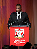 Jeffrey Webb. US Soccer held their Centennial Gala at the National Building Museum in Washington DC.