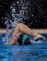Neve Bessells (North Harbour Synchro). Day Two of the 2018 North Island Synchronised Swimming Championships at Wellington Regional Aquatics Centre in Wellington, New Zealand on Sunday, 20 May 2018. Photo: Dave Lintott / lintottphoto.co.nz