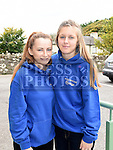 Emma Jane O'Brien and Laoise Reilly at the official opening of Slane Foróige Youth Café. Photo:Colin Bell/pressphotos.ie