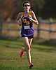 Greta Flanagan of Oyster Bay legs out a win in the Nassau County girls cross country Class C state qualifier at Bethpage State Park on Saturday, Nov. 4, 2017. She finished the 5K race with a time of 21:10.63.