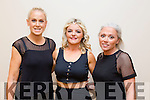The contestant Helen Tansley,Oakpart Tralee, Serena Griffin,Ardfert and Lisa Edge,Lixnaw at 'The Voice' in Tralee in Fels Point Hotel on Saturday in aid of Recovery Haven