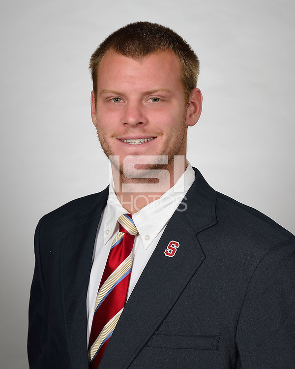 STANFORD, CA - MAY 1, 2012: Stanford football head-shots.