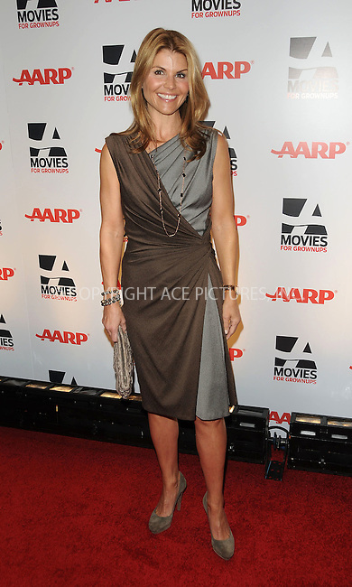 WWW.ACEPIXS.COM . . . . . ....February 7 2011, LA....Actress Lori Loughlin arriving at the AARP Magazine 10th Annual Movies For Grownups Awards at the Beverly Wilshire Four Seasons Hotel on February 7, 2011 in Beverly Hills, CA....Please byline: PETER WEST - ACEPIXS.COM....Ace Pictures, Inc:  ..(212) 243-8787 or (646) 679 0430..e-mail: picturedesk@acepixs.com..web: http://www.acepixs.com