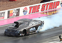 Oct 29, 2016; Las Vegas, NV, USA; NHRA pro mod driver Steven Whiteley during qualifying for the Toyota Nationals at The Strip at Las Vegas Motor Speedway. Mandatory Credit: Mark J. Rebilas-USA TODAY Sports