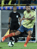 BOGOTA - COLOMBIA, 03-06-2019: Edwin Cardona jugador de Colombia en acción durante partido amistoso entre Colombia y Panamá jugado en el estadio El Campín en Bogotá, Colombia. / Edwin Cardona player of Colombia in action during a friendly match between Colombia and Panama played at Estadio El Campin in Bogota, Colombia. Photo: VizzorImage/ Gabriel Aponte / Staff