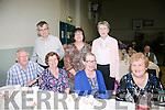 Enjoying the Ardfert/Kilmoyley Senior Citizens Tea Dance in Ardfert Community Centre on Sunday were Front l-r  Denis Hartnett, Patricia Hartnett, Eileen Kelleher and Eilen Keating. Back l-r  Paudie O'Sullivan, Marie O'Sullivan and Noreen Baxter.