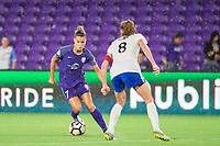 Orlando, FL - Saturday June 03, 2017: Stephanie Catley during a regular season National Women's Soccer League (NWSL) match between the Orlando Pride and the Boston Breakers at Orlando City Stadium.