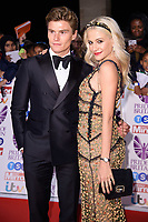 Oliver Cheshire and Pixie Lott<br /> at the Pride of Britain Awards 2017 held at the Grosvenor House Hotel, London<br /> <br /> <br /> &copy;Ash Knotek  D3342  30/10/2017