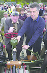 Jackie Healy Rae and Billy Donegan on  a  1914 Overtime tractor which was the oldest tractor on display  at the Old Machinery Rally at the Gleneagle Hotel Killarney on Sunday..Picture:  Eamonn Keogh (MacMonagle, Killarney) Jackie Healy-Rae, TD from the book by Don MacMonagle entitled 'Jackie - Keeping Up Appearances' published in 2002.