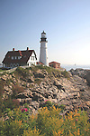 Portland Head Lighthiuse, Cape Elizabeth, Maine, USA