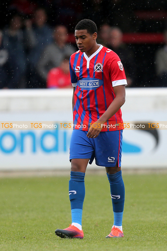 Tyrique Hyde of Dagenham during Dagenham & Redbridge vs Wealdstone , Emirates FA Cup 4th Qualifying Round Football at the Chigwell Construction Stadium on 15th October 2016