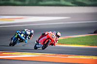 VALENCIA, SPAIN - NOVEMBER 8: Francesco Bagnaia during Valencia MotoGP 2015 at Ricardo Tormo Circuit on November 8, 2015 in Valencia, Spain