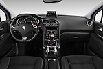Straight dashboard view of a 2014 Peugeot 5008 Allure 5 Door Mini Mpv 2WD.