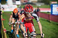 Kevin Pauwels (BEL/Sunweb-Napoleon Games)<br /> <br /> Elite Men's race<br /> bpost bank trofee<br /> GP Mario De Clercq Ronse 2015