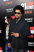 LOS ANGELES, CA - MAR 13: Ice Cube at the premiere of Columbia Pictures '21 Jump Street' held at Grauman's Chinese Theater on March 13, 2012 in Los Angeles, California